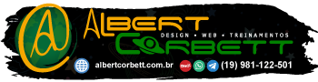 AlbertCorbett - DESIGN • WEB • TREINAMENTOS